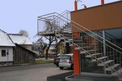 Treppe Aussenmauer